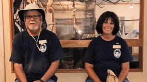 Volunteer roving interpreters for Aransas National Wildlife Refuge